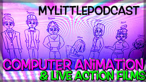 Livestream | My Little Podcast | Podcast Animation Film Making