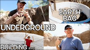 Underground Earth Bag Building Wall Safety Considerations