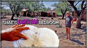 Building Plans and Layout | Shae's Earthbag Bedroom Ep1