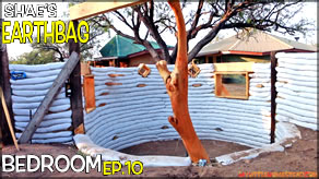 Growing Walls Around Odd Shapes | Shae's Earthbag Bedroom Ep10 | Weekly Peek