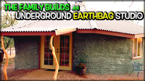 Bloopers | Underground Earthbag 2 Story Building