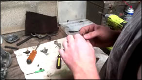make simple tool to clean out carburetor jet