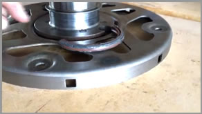 How to Fix Crankshaft With Rear Main Seal Wear Ring