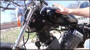 How to adjust the timing on a Yamah Virago Motorcycle