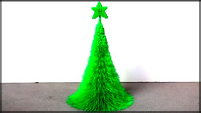 3d Printed Christmas Tree! [Thingiverse Print Review]