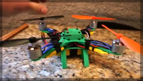 3D Printed Quadcopter Full!