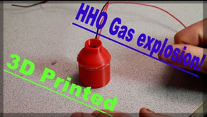 3D Printing a HHO Generator! | The HHO Balloon Filler