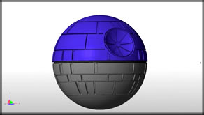 3d Printed Death Star! [Thingiverse Print Review]
